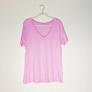Light Pink Women's V-Neck T-Shirt